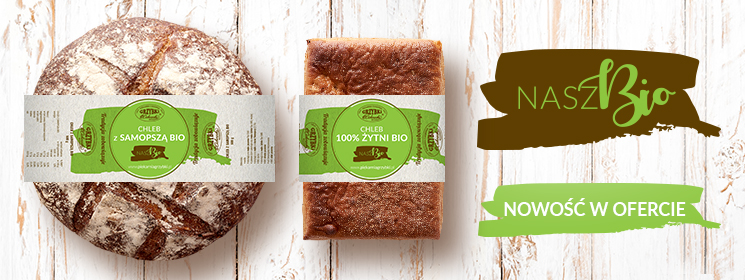 Chleby BIO – nowość w ofercie wyrobów piekarskich