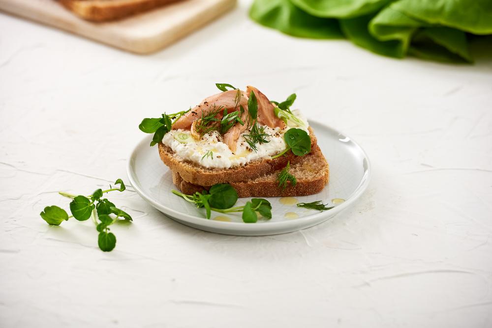 Śniadaniowa kanapka chleb 100% żytni BIO