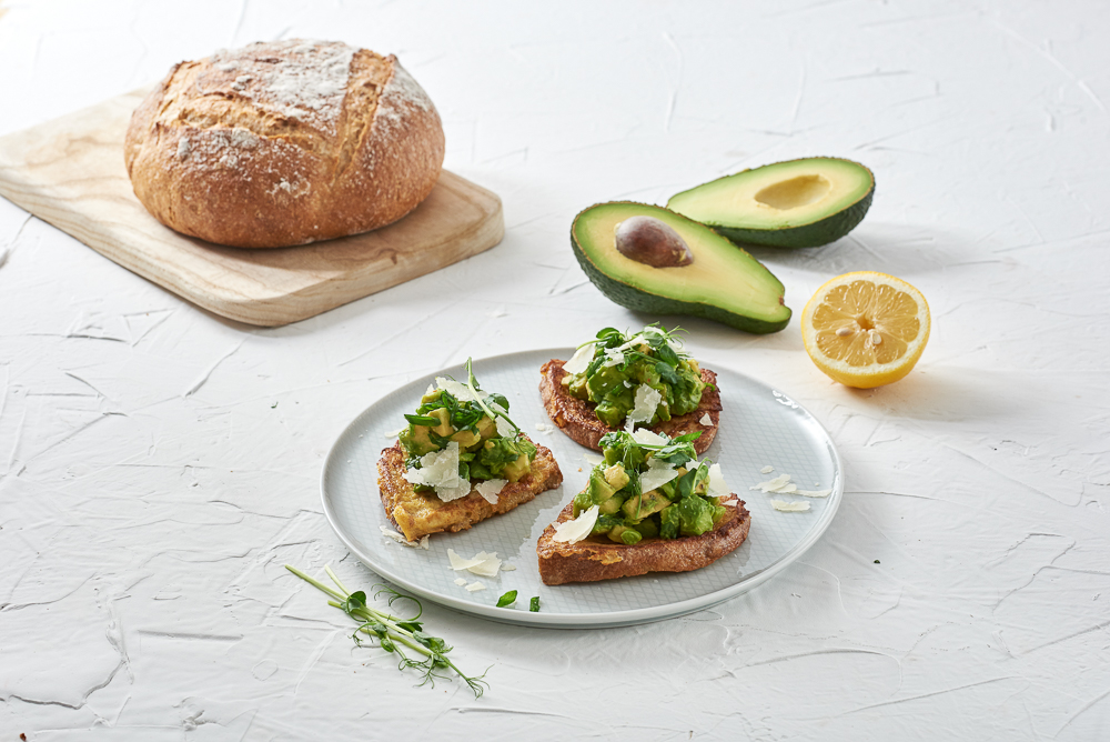 Śniadaniowe wytrawne tosty chleb BIO