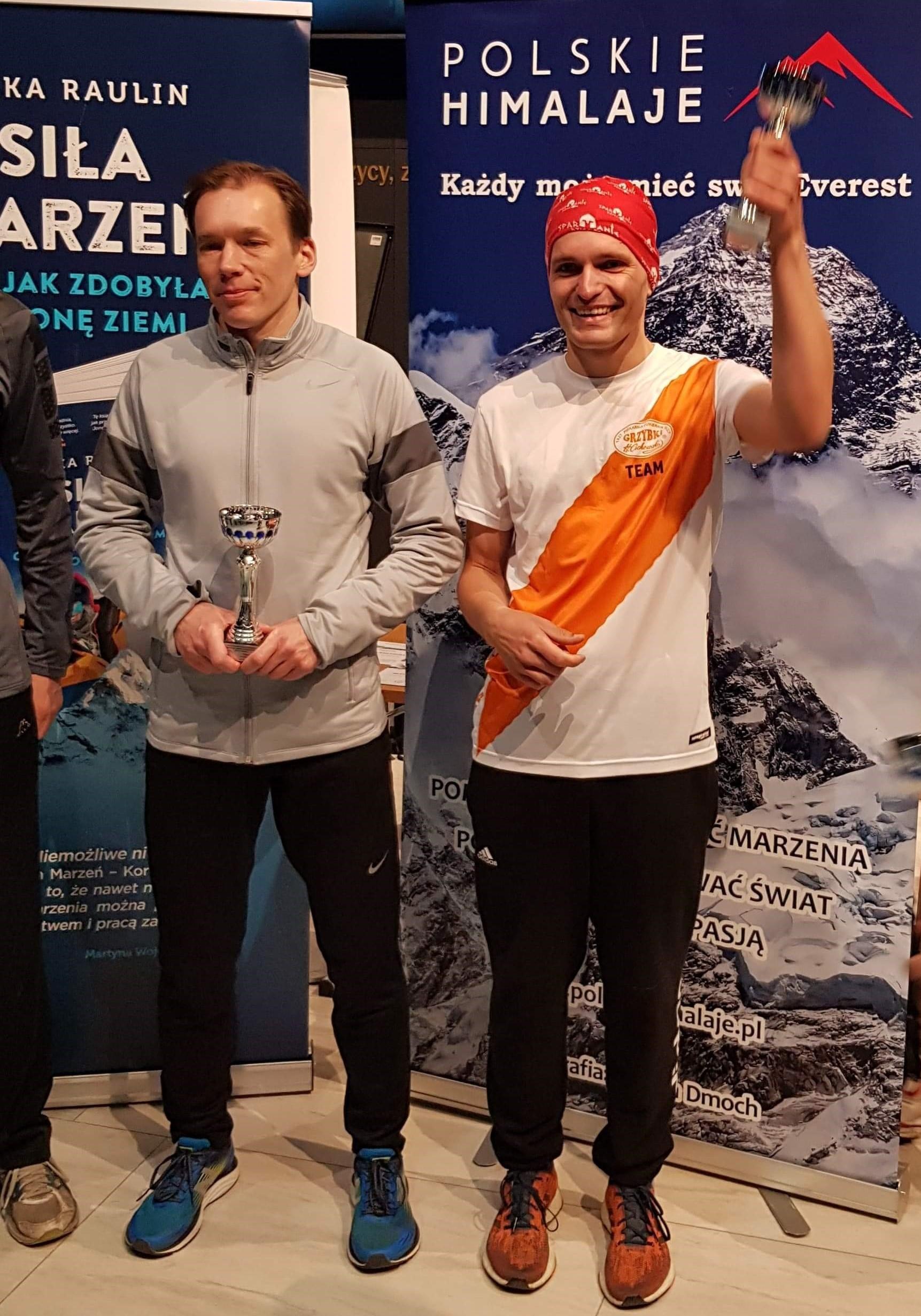Łukasz znów na podium - gratulacje!   Etapowy Maraton Pokoju - Bitwa o Narwik - Warszawa 10 kwietnia 2019r.