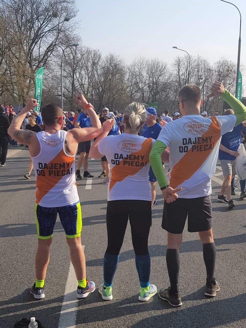 W teamie raźniej!   14. PZU Półmaraton warszawski - 31 marca 2019r.