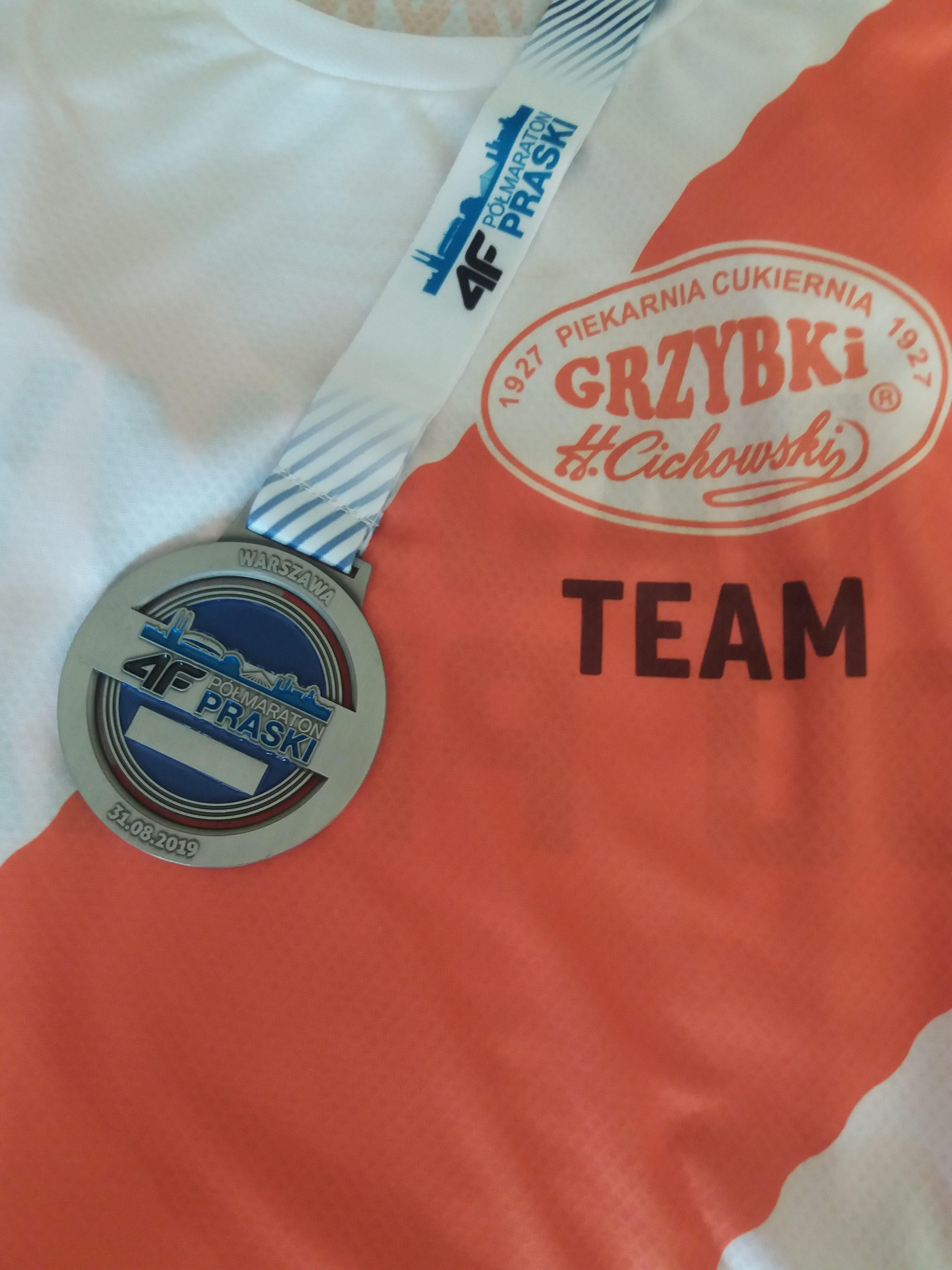 Półmaraton Praski - Warszawa 31 sierpnia 2019 r.