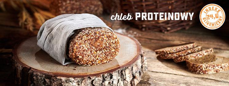 Chleb proteinowy dla sportowców