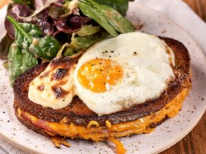 tost croque madame