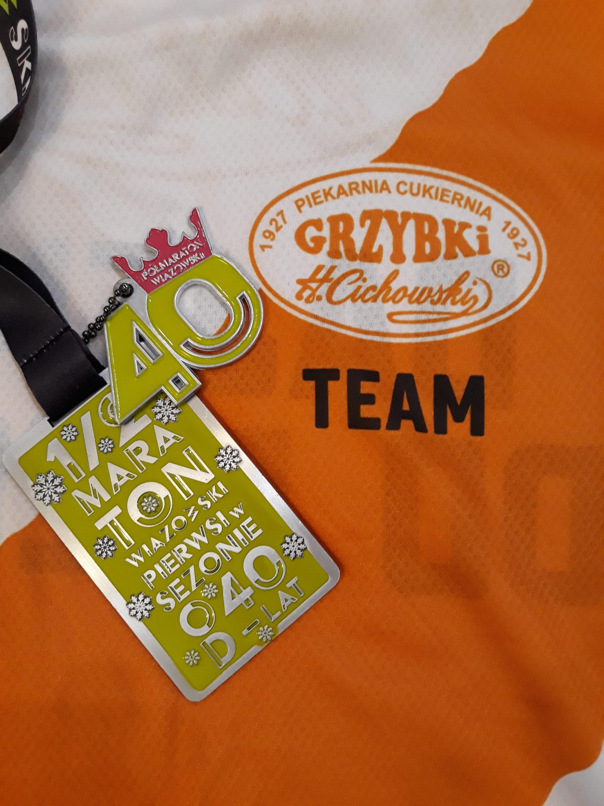40ta edycja Półmaratonu Wiązowskiego - 23 lutego 2020r.