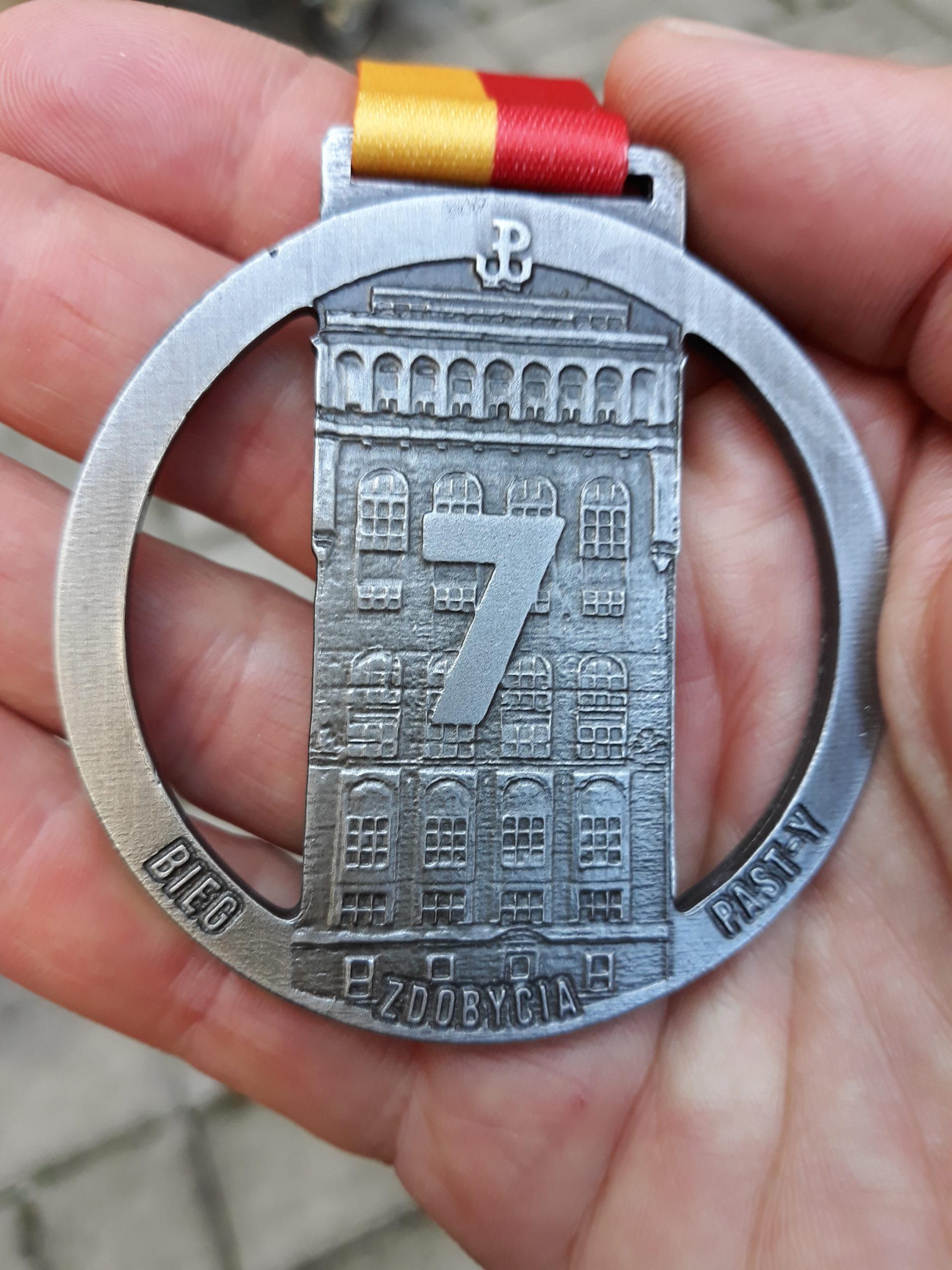 VII Bieg Zdobycia PAST-y - Warszawa 22 sierpnia 2020r.